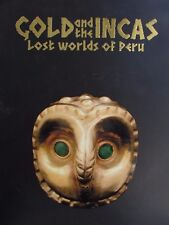GOLD AND THE INCAS LOST WORLD OF PERU NATIONAL GALLERY OF AUSTRALIA CATALOGUE