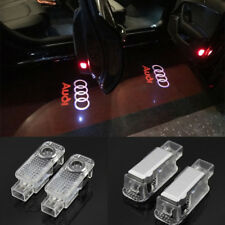 2x LED Door Logo Projector Lamp Step Light for Audi A4 A4 Quattro S4 2003-2016