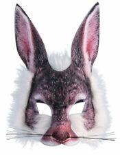 Furry Rabbit Adult Costume Half Mask