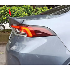 Painted ABS For Toyota Corolla Altis 12th C Look Rear Trunk Spoiler 2019