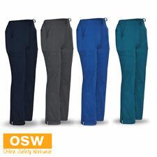 Womens Ladies Charcoal, Navy, Royal, Teal Scrub Bottom Pants - Hospital, Medical