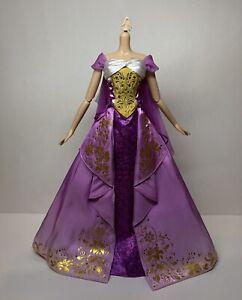 "RAPUNZEL 2020 Limited Princess Doll Disney Store LE 17"" 10th Anniversary Dress"