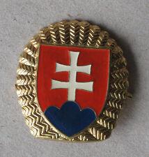 SLOVAKIAN ARMY BADGE