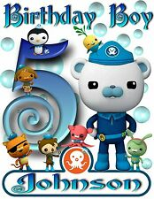 Personalized Octonauts  - Birthday T-Shirt Party Favor