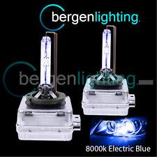 D1S ELECTRIC BLUE XENON LIGHT BULBS MAIN HIGH BEAM 8000K 35W FACTORY OEM HID 4