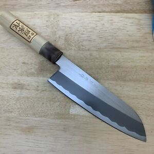 <Unused Item> Japanese Chef's Kitchen Knife 照秀 Santoku 160/300  From Japan