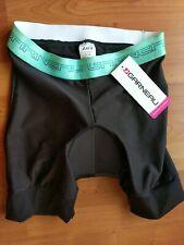 Louis Garneau Womens Padded Shorts Comfort Gel Liner Sz S Black Cycling
