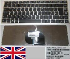 Teclado Qwerty UK SONY VAIO VPC-Y 9J.N0U82.K0U, 148768711 Silver Frame Negro