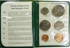 1982 AUSTRALIA MINT Coin Set Commonwealth Games