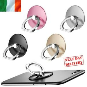 Mobile Finger Grip Ring Stand Phone Holder For iPhone Samsung Tablet Rotate 360