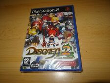 PS2 Disgaea 2 Cursed Memories, UK Pal ,New & Sony  Sealed