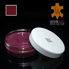 burgundy leather colour dye restorer balm Mercedes Benz cars seats repair