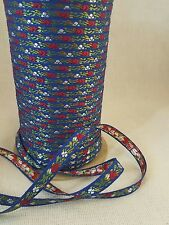 Japanese floral trim 3/8 wide rayon 5 yards #25