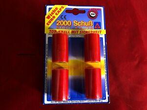 2000 Schuß Wicke Euro Caps Ringmunition Zündblättchen 20 x 100 Schuß *OVP