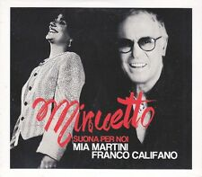 2 CD ♫ Compact disc «MIA MARTINI ~ FRANCO CALIFANO ♪ MINUETTO» nuovo digipack