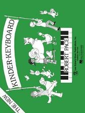 The New Kinder Keyboard Basic Piano Series: Pace Piano Education-ExLibrary