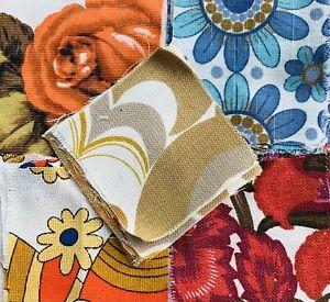 25 Vintage Patchwork  Pieces / Craft/ Quilting #3