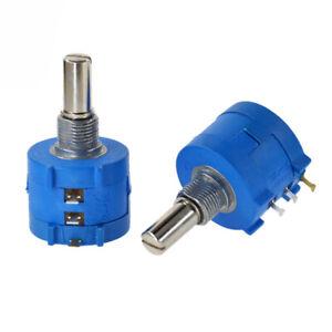 3590S-2 Precise Multi-Turn Linear Potentiometer Variable Resistor 100R-100K
