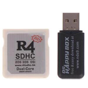 R4 SDHC Adapter Sichere digitale Speicherkarte Brennkarte Spielkarte FlashcarP2a
