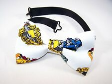 NEW FABRIC BOW TIE W/Adjustable Strap * HARRY POTTER * USA FREE SHIPPING C