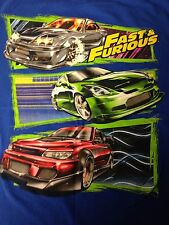 VINTAGE FAST AND FURIOUS T SHIRT 18-20