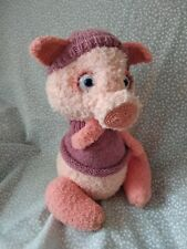 handmade knit piggy pig cute gift for the new year