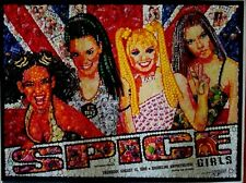 Rare Spice Girls Original Poster Shoreline Amphitheatre Mountain View CA 8/13/98