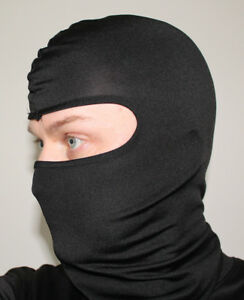 100% Polyester Microfiber Balaclava One Size fits All Face Mask Under Helmet