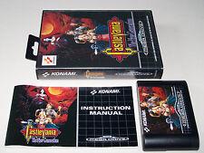 CASTLEVANIA THE NEW GENERATION - Sega Mega Drive - UK PAL - Boxed & Complete
