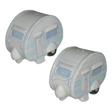 CERAMIC CARAVAN SALT and PEPPER SET in GIFT BOX (PPJS33-2)