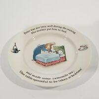 "Wedgwood of Etruria & Barlaston Peter Rabbit Plate/Dish, 7"" diameter, England"