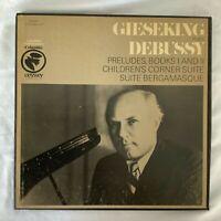DEBUSSY-PRELUDES BOOKS I & II-GIESEKING-COLUMBIA ODYSSEY 3 VINYL BOX SET