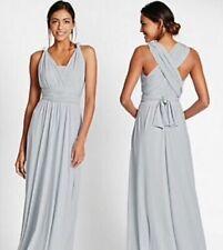 NEW SILVER GREY MULTIWAY DRESS 22 24 MARKS SPENCER CRUISE WEDDING BRIDESMAID £49