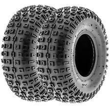 SunF 145/70-6 ATV Tires 145/70x6 Sport Tubeless 6 PR A011  [Set of 2]