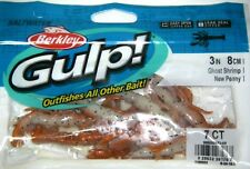 "Berkley Gulp! Saltwater Fishing Lure 3"" Ghost Shrimp GSSGSHR3-NP New Penny"