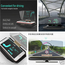 Car Non-slip Phone Bracket GPS Navigation Holder HUD Head Up Projection Display