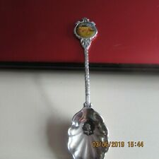 JERSEY COLLECTORS JERSEY COWS VINTAGE  SILVER PLATED TEA SPOON WITH EMBLEM