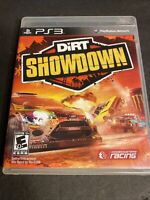 DiRT Showdown PS3 (Sony PlayStation 3, 2012) Complete w/ Manual TESTED & WORKING