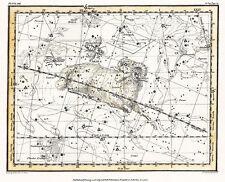 Astronomy Celestial Atlas Jamieson 1822 Plate-13 Art Paper or Canvas Print