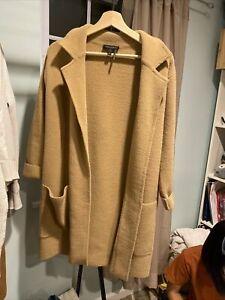 DKNY Nude Wool Coat XxSmall