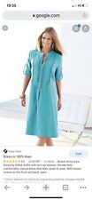 Anna Aura Linen Dress Plus Size
