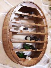 Botellero para vino Recipiente COLGAR 24 BOTELLAS Marrón BARRA SOPORTE DE Barril