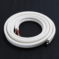 5m Air Conditioner Tube 1/4 5/8 Aluminum Pair Copper Pipe Air Conditioning