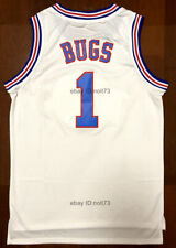 Bugs Bunny Tune Squad Space Jam Movie Men's Basketball Jersey Stitched