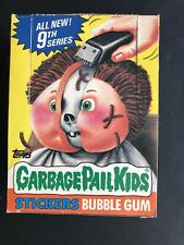 1987 Garbage Pail Kids GPK 9th Series 48 Packs Can. USA Mixed Passed BBCE Poster