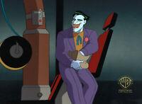 Batman Animated Series Original Production Cel Joker-The Laughing Fish
