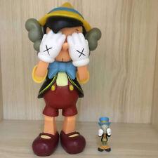 Kaws Pinocchio & Jiminy Cricket Standing Mini Figure Designer Art Toy Figurine