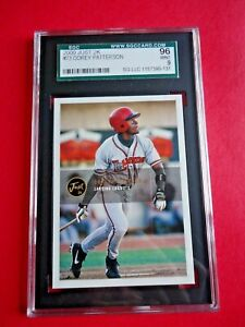 Corey Patterson, 2000 Just 2k Baseball card # 73, Lansing Lugnuts, Graded SGC 96