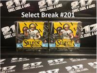 2020 Select Football 2 BOX Hobby Break - Pick Your Division Break #201