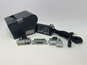 EPSON TM-T88V POS RECEIPT PRINTER MODEL M244A Wi-Fi / Ethernet interface